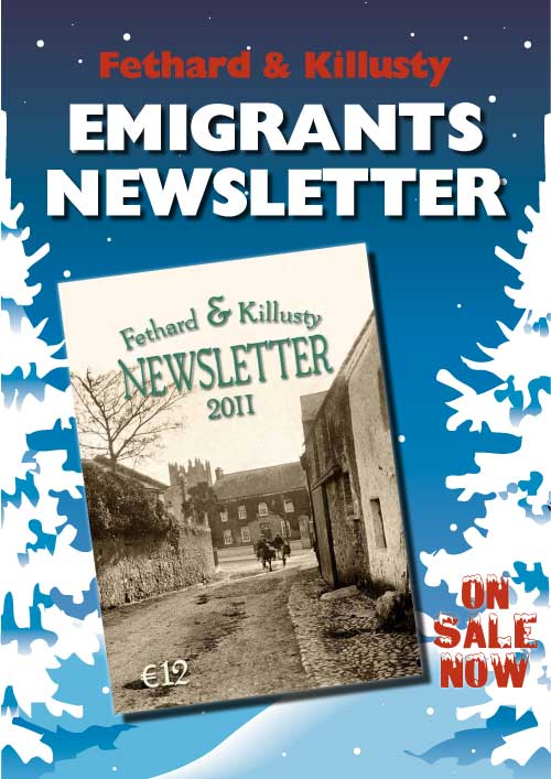 Fethard Emigrants Newsletter on Sale Now