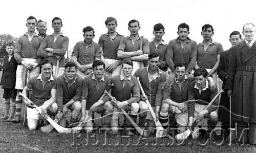 This is another oldhurling photograph from the files that we need some information for. It may be a Coolmoyne or Fethard team from the 1950s.