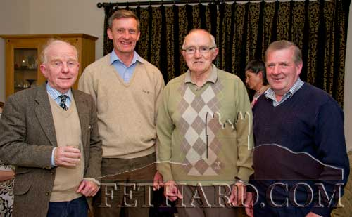 Tony with his friends from Tipperary Foxhounds L to R: Michael Higgens, Derry Donegan, Tony Newport and Pat O'Brien.