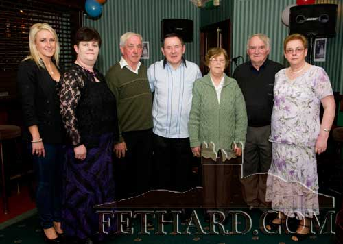 L to R: Jennifer Keane, Joan Halpin, Mickey Croke, Joe Keane, Biddy Kearney, Jimmy O'Shea and Ann Keane.