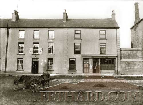 Schofields Pub on The Square, Fethard c.1900