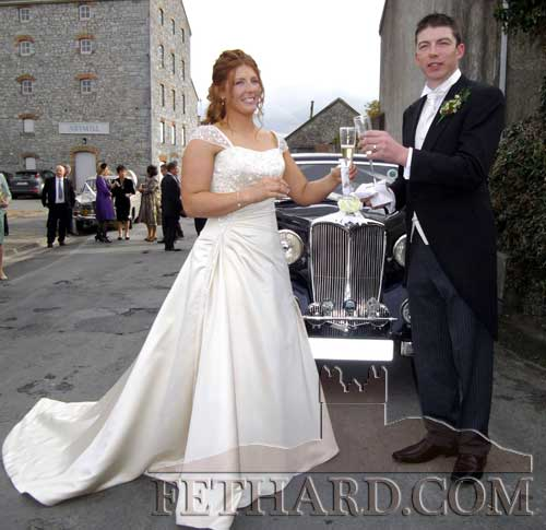 The wedding of Noel 'Harry' Barry and Pauline Millea took place on Friday, October 21, in the Augustinian Abbey, Fethard, followed by a reception at Mount Juliet Estate, Kilkenny. The married couple would like to thank everyone for making their wedding day such a special occasion.