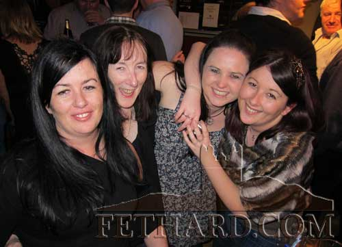 Maura Ryan and her daughters Mandy and Martina photographed in Butler's Bar