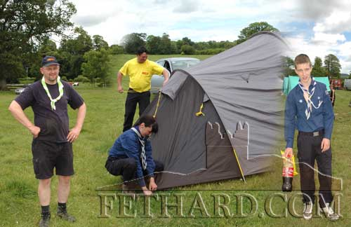 Fethard Scout Group held their Annual Group Weekend Camp w/e 24th June