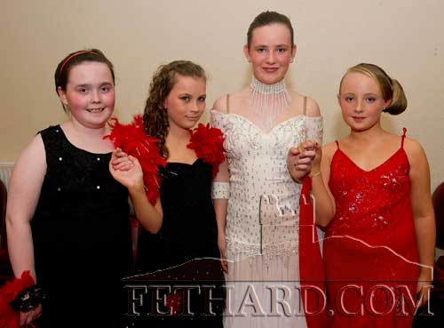 Taking part in Holy Trinity National School's 'Strictly Come Dancing' at Fethard Ballroom were L to R: Sarah Slattery, Rebecca McCarthy, Katie Ryan and Sally Neagle.