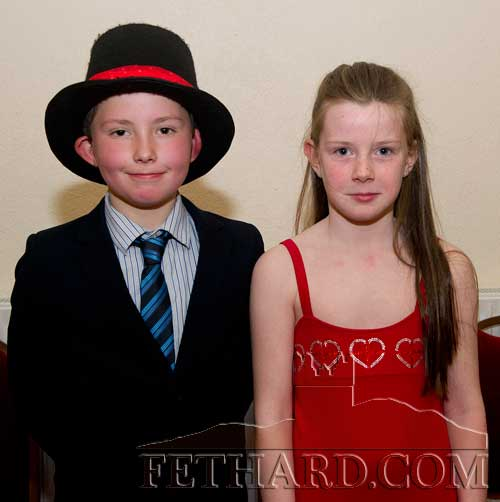 Taking part in Holy Trinity National School's 'Strictly Come Dancing' at Fethard Ballroom were L to R: Conor Walsh and Ava Ward