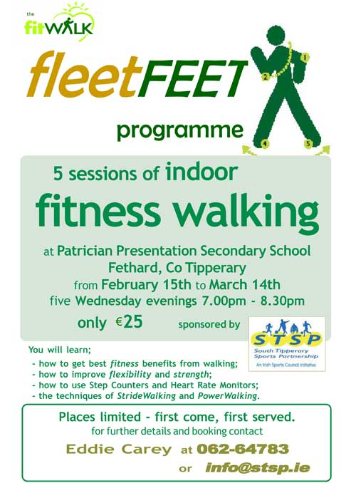 FleetFeet Poster for Fethard