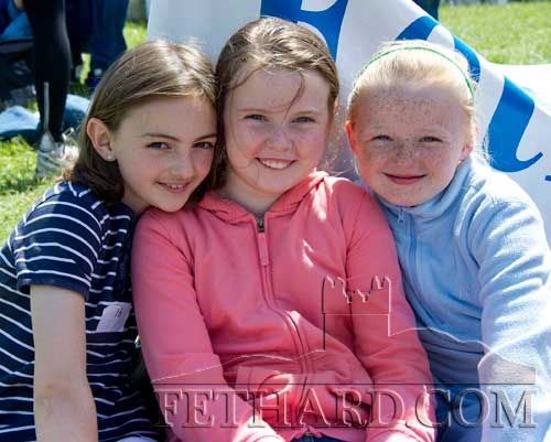 Fethard athletes L to R: Allison Connolly, Hannah Dolan and Carrie Davey