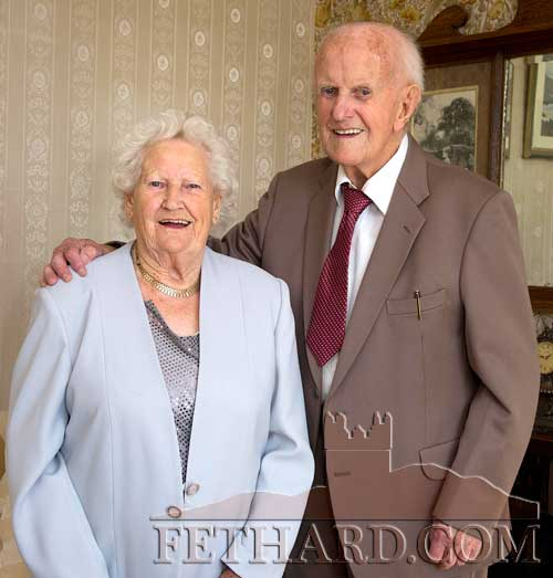 Madge and Jimmy Hurley who celebrated 70 years of marriage on September 29