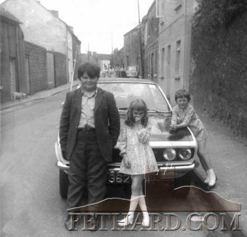 Michael 'Chas' Keane sent us this photograph of himself outside Walsh's house in Barrack Street taken in the early 1970s. One of the many submitted for the 'Green/Barrack Street Reunion' in Fethard on August 18.