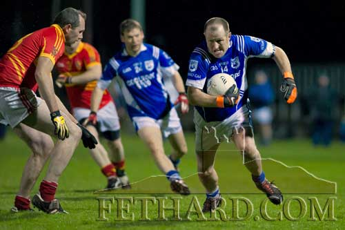 Miceal Spillane in action for Fethard in the Junior B County Final against Moyrcarkey on Saturday, November 24.