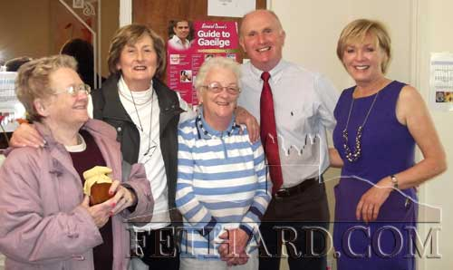 Photographed at the Coffee Morning / Cake & Bread Sale held recently at Willowbrook Lodge, Mocklershill are L to R:  Moira MacNamara, Angela Fogarty, Moira Foley, Seamus and Noelle Killeen. Over €700 was raisede for South Tipperary Hospice and the organisers say thanks to everyone for their support and generous donations.