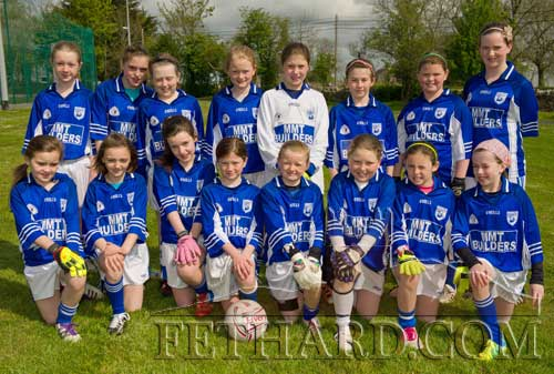 On Saturday May 5, Fethard Under 11 girls competed in the Community Games football against Clerihan. Pictured Back L to R: Laura Kiely, Shannon Thompson, Noelle O'Meara, Sally Butler, Laura Cummins, Lucy Spillane, Caoimhe O'Meara, Katie Ryan. Front L to R: Ciara Connolly, Alison Connolly, Katie O'Flynn, Nell Spillane, Carrie Davy, Rachel Prout, Leah Coen and Laura O'Donnell.