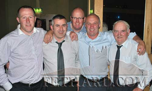 Photographed at the Fethard GAA 125th Anniversary DInner Dance are L to R: Miceál Spillane, Martin Coen, John Hurley, Tom Anglim and Jimmy O'Shea