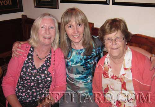 Breda Kearney (centre) photographed while at home on holidays from London with her neighbour, Margaret Clancy (left) and her mother Biddy Kearney.