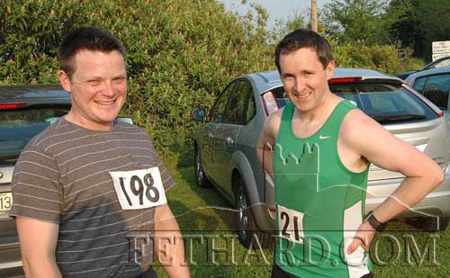 Michael Moclair and James Denn who represented Fethard AC in Poulmucka