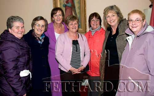 School friends photographed at the Presentation Sisters 150th Anniversary Celebrations in Fethard are L to R: Rita Callaghan, Sr. Fidelis, Trudy Hanrahan, Rita Leahy, Theresa McCarthy, Norma Hanrahan and Ann Wall.