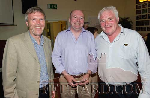 Brothers John and Joe Keane formerly from The Green, photographed with Day Morrissey (right) who was born on The Green