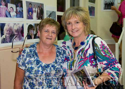 Schoolfriends meet at The Green & Barrack Street Reunion L to R: Rita Leahy and Norma Hanrahan