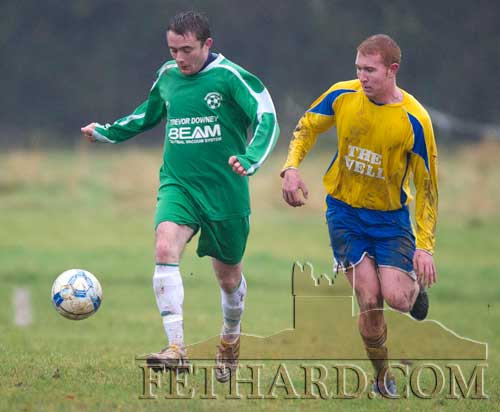 L to R: David Butler (Rosegreen Rangers) and Alan Brannigan (Killusty)