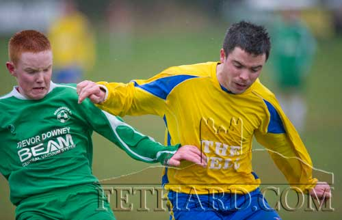 L to R: Gary O'Dwyer (Rosegreen Rangers) and Shane Aylward (Killusty)