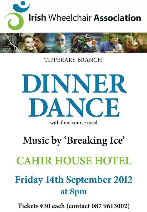 IWA Tipperary Branch Dinner Dance this Friday