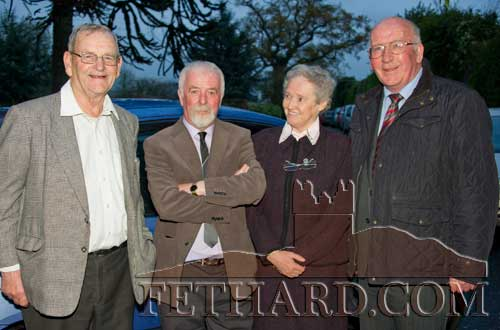 Photographed at the 150th Anniversary Celebrations L to R: Bro James, Bro Sylvester, Sr. Maria Fletcher and Paddy Broderick
