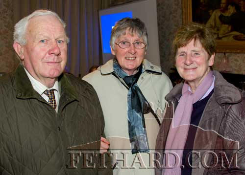 Photographed at the Presentation Sisters 150th Anniversary Celebrations in Fethard are L to R: Gus Neville, Sr. Carmel O'Rourke and Sr. Brenda O'Rourke.