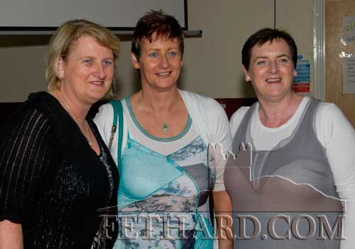 Morrissey sisters at the reunion L to R: Frances, Mary and Ann, originally from The Green