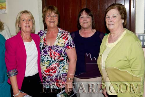 Photographed at the reunion were L to R: Catherine Trehy, Theresa McCarthy, Margaret McCarthy and Angela McCarthy