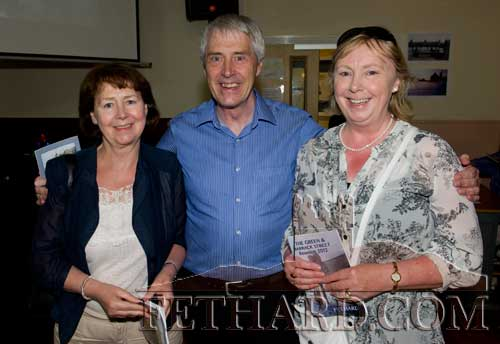 O'Riordan family members, Helen, Gerry and Ann, originally from Barrack Street, at the Reunion