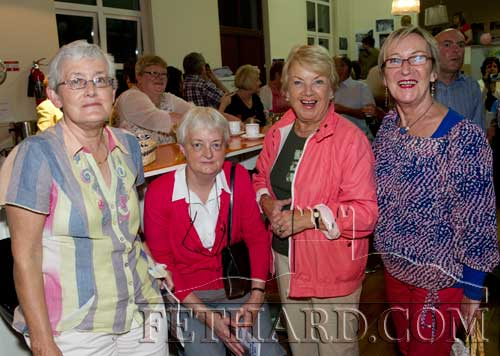 Photographed at the reunion are sisters, Ann and Catherine Healy, with Rita and Bernadette Kenny