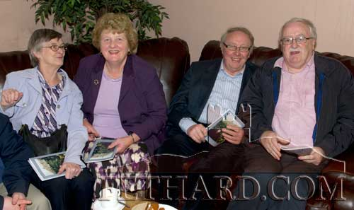 L to R: Margaret Taylor, Nelly Ryan, Johnny Carey and Paddy Lonergan