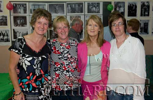 Members of the McCormack family from The Green at the reunion. L to R: Valerie, Gena, Marion and Tishie