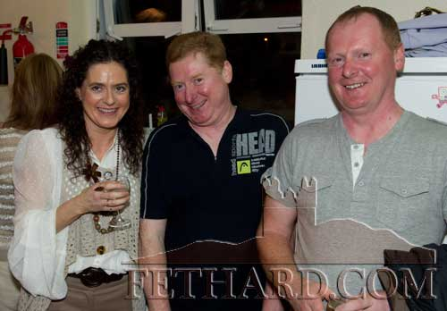 Members of the O'Donnell family originally from Barrack Street L to R: Mandy, Nigel and Willie