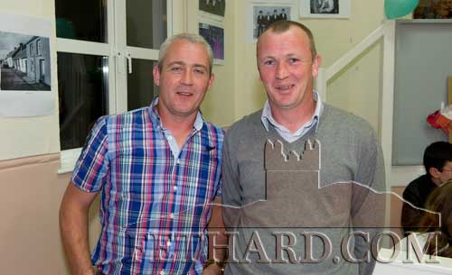 Paul and Dermot O'Meara at the reunion