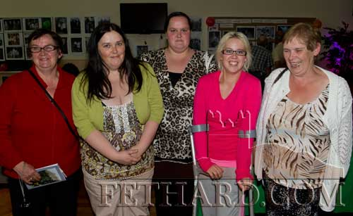Members of the Sayers extended family photographed at the reunion L to R: Catherine, Margaret, Katie, Sarah and Mary