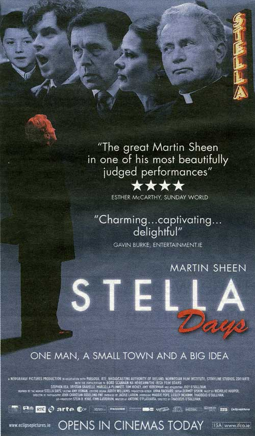 Stella Days opens in local cinemas today