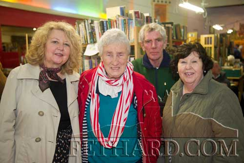 Photographed at the Tipperariana Book Fair in Fethard are L to R: Veronica Geoghegan Sweeney who recently published her book 'The Big House', Maura Walshe, Philip Maguire and Geraldine Kelly all from Carrick-on-Suir.