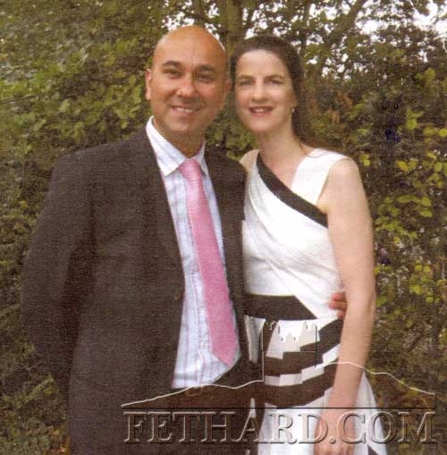 Hakan Kana and Yvonne Purcell, Burke Street, who were recently married in London