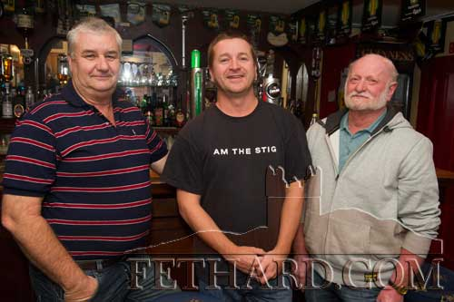 Visitors to Fethard from Australia L to R: Chris Burke, Ray Bright and Stan Bright.