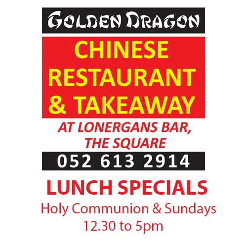 Golden Dragon Restaurant 'Specials'