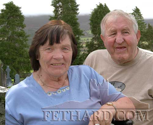 The late Helen and Christopher Prout whose anniversary mass will be held on January 20, 2013, at 10am in the Church of The Sacred Heart in Killusty