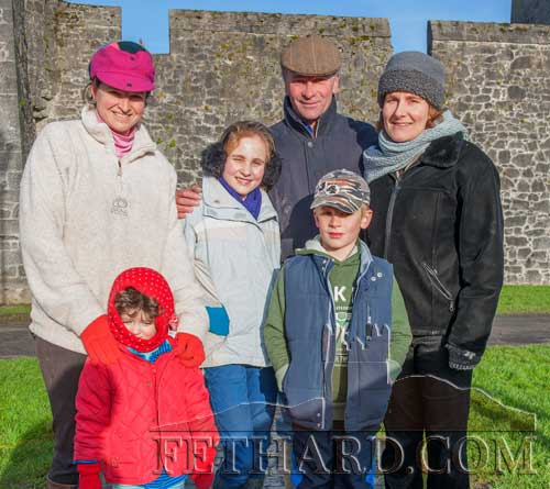 Lalor family and friends at the New Year's Meet in Fethard.