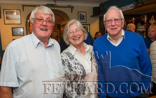 Photographed at the presentation of this months Sports Achievement Awards are L to R: Sean Moloney with Ann and Hugh Lynch, Kilnockin.