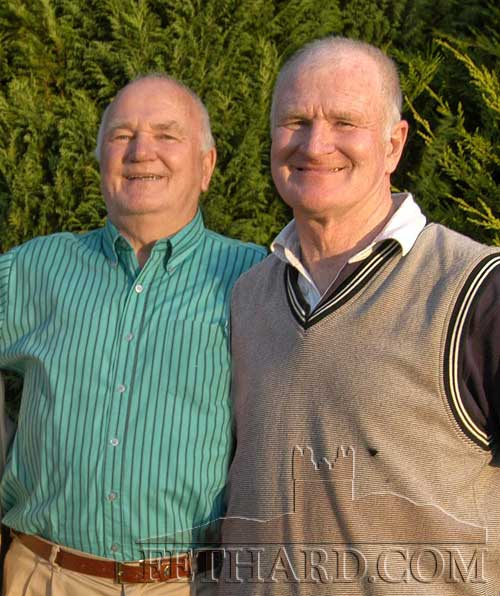 Brothers Mike and Dinny Burke from Redcity nominated for the July Fethard Sports Achievement Award