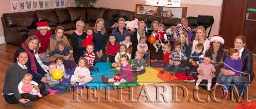 Bunny Hop end of term Christmas party at Fethard Youth Centre. The group are now back in action since Monday, January 7. Bunny Hop is a music and movement group devised especially for babies and young children. To join or for information contact Nicola 087 6742401.