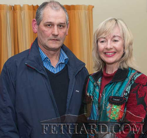 Fethard Business Tourism Co. Ltd. company secretary, Peter Grant and company chairperson, Catherine Corcoran photographed at a recent meeting.