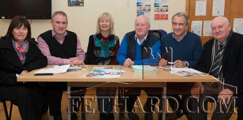 Members of Fethard Business and Tourism Group L to R: Bernadette Stocksborough, Maurice Moloney, Catherine Corcoran, Bill O'Sullivan, Tadhg Gleeson and Leo Darcy.