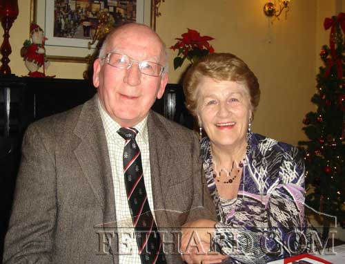 Photographed at the Abbey Choir Christmas Party held on Friday, December 16 are L to R: Paddy and Nell Broderick
